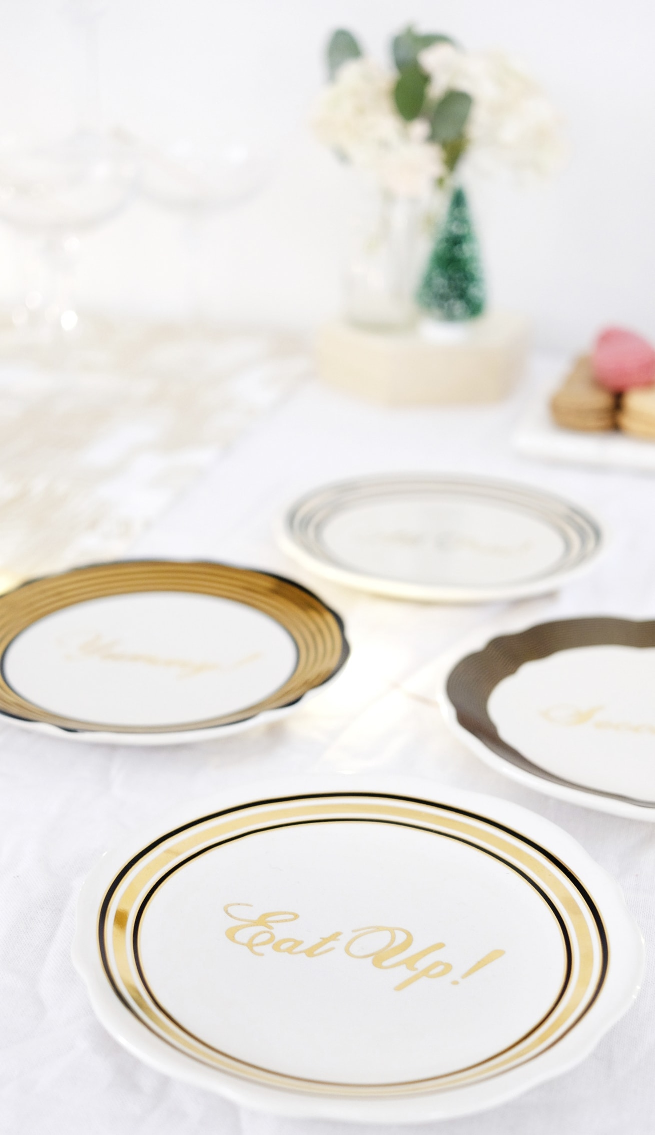 12 styled days of Christmas with West Elm | Christmas table styling