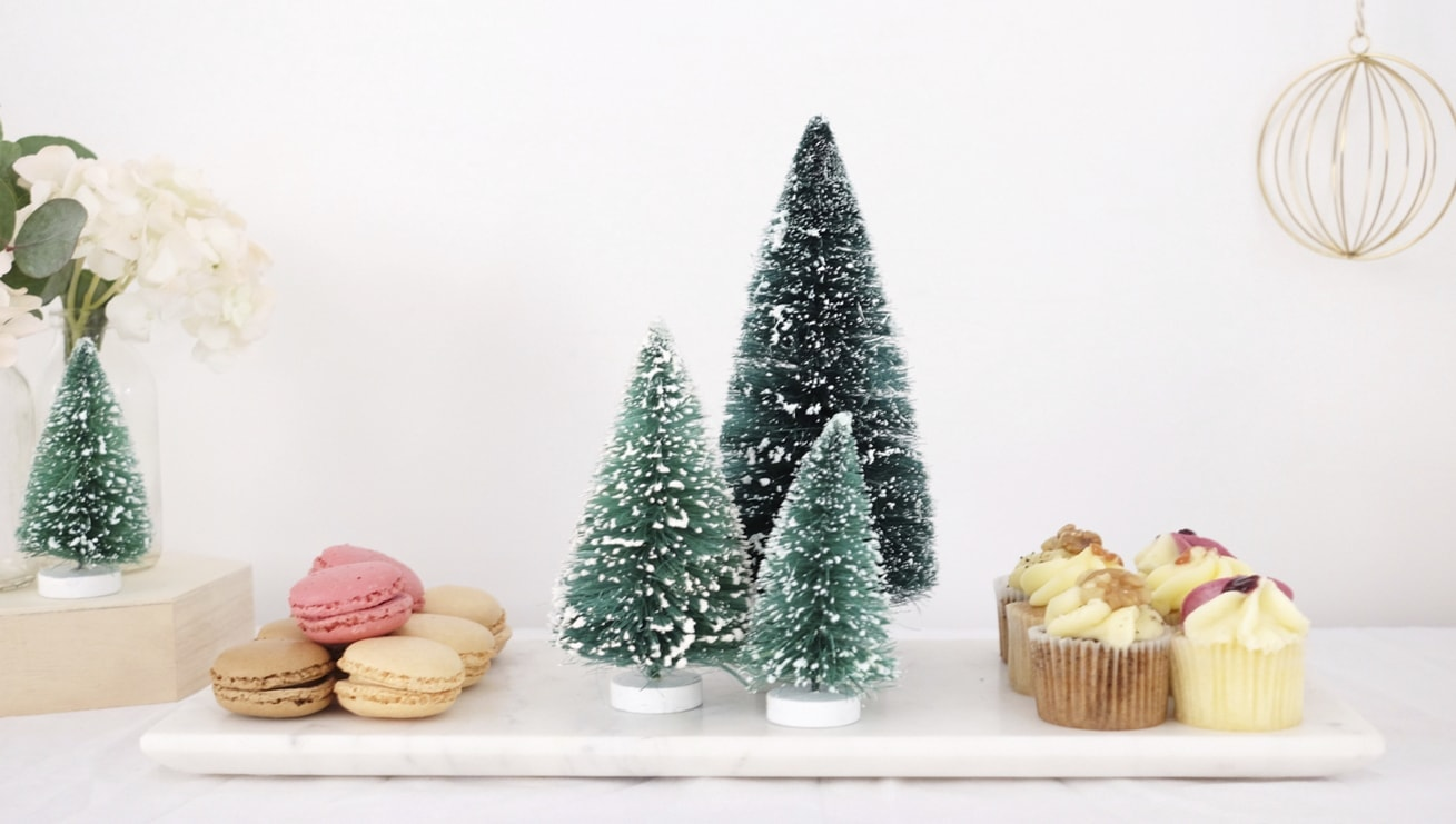12 styled days of Christmas with West Elm   Christmas tea party