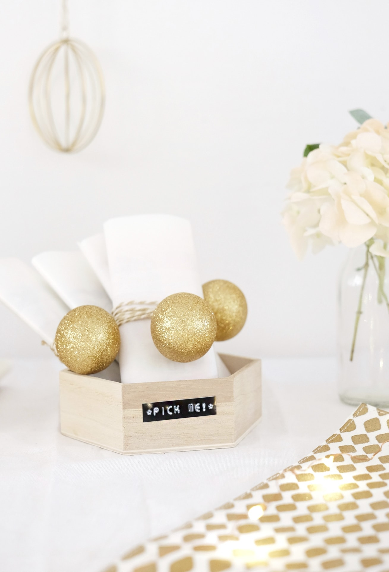 12 styled days of Christmas with West Elm | Christmas tea