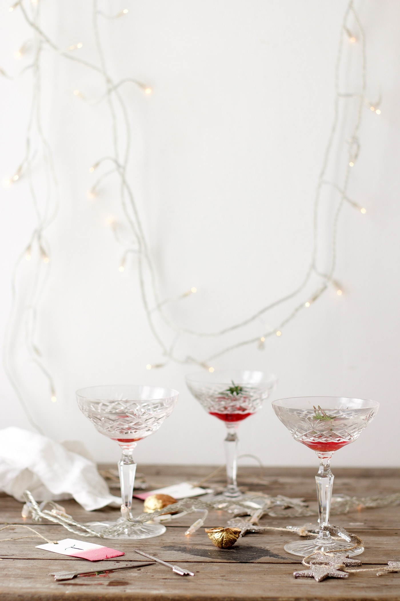 12 styled days of Christmas with West Elm | cocktail hour | lobster and swan