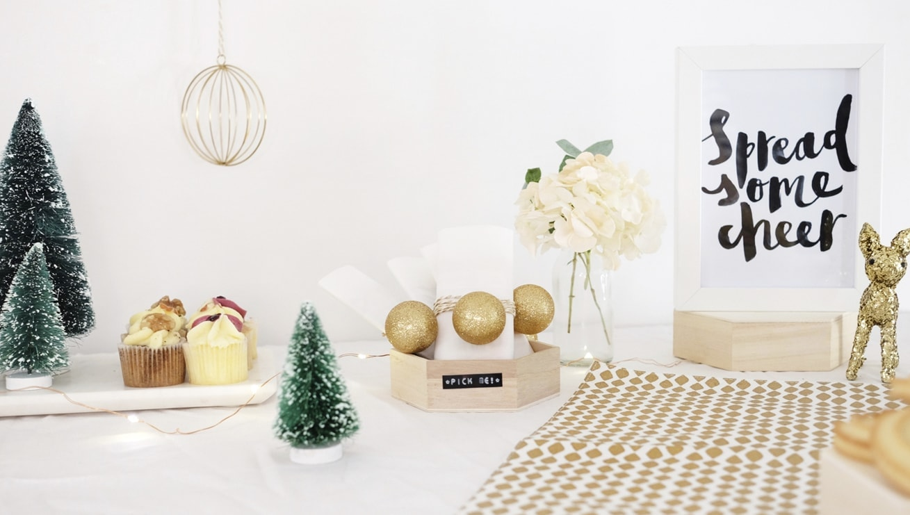 12 styled days of Christmas with West Elm | festive afternoon tea | gathered cheer