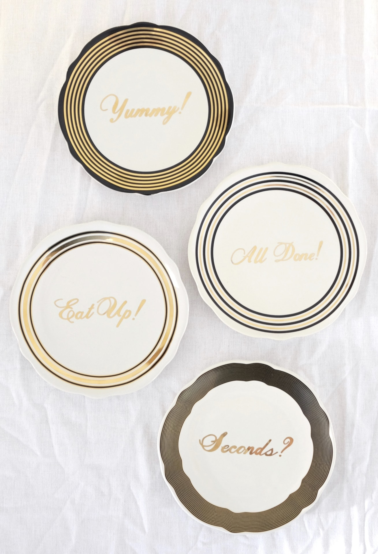 12 styled days of Christmas with West Elm | festive plates