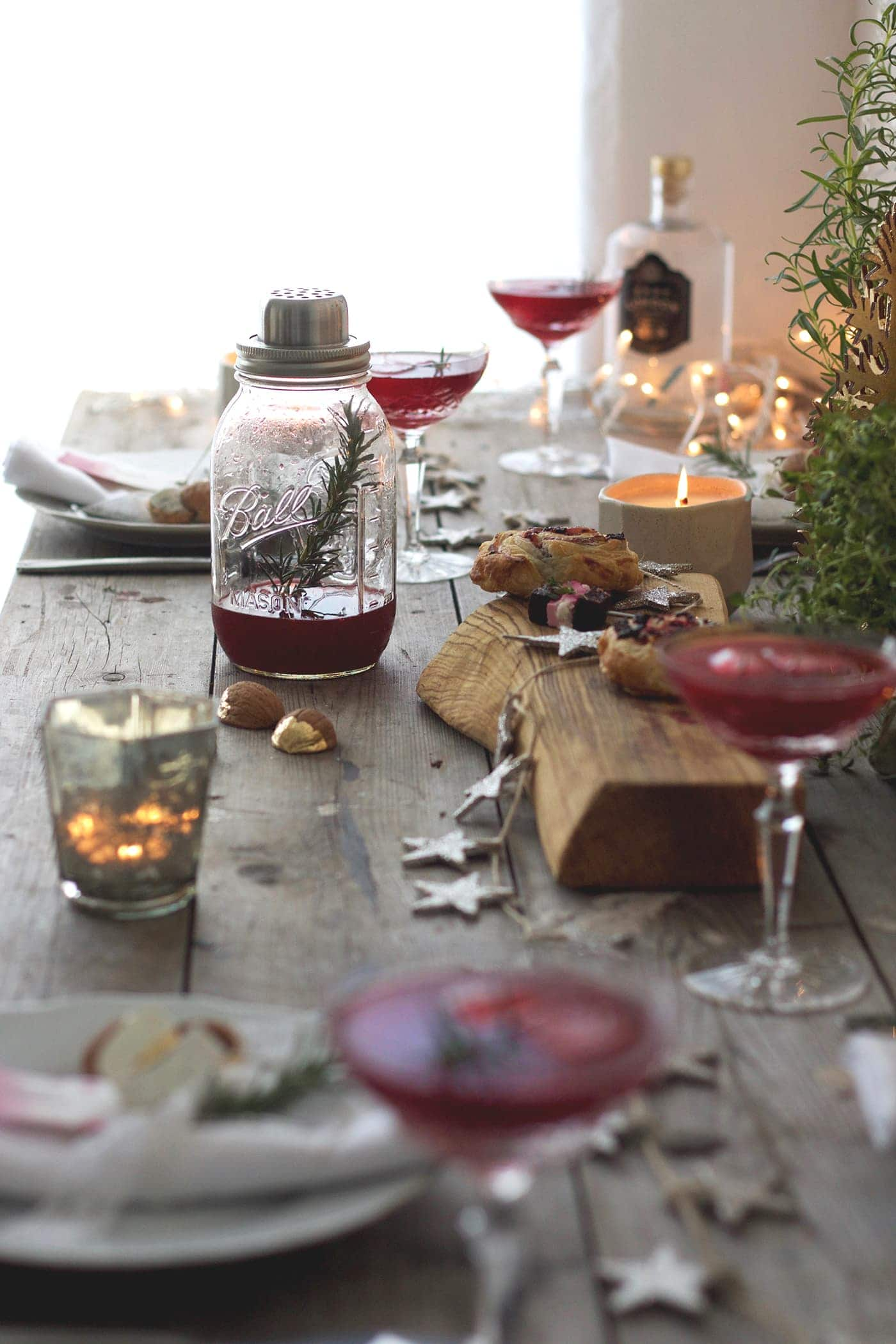 12 styled days of Christmas with West Elm | festive table decor | lobster and swan