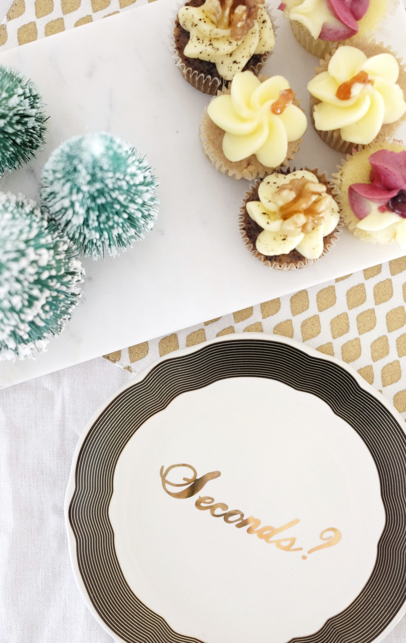 12 styled days of Christmas with West Elm | gathered cheer tea party