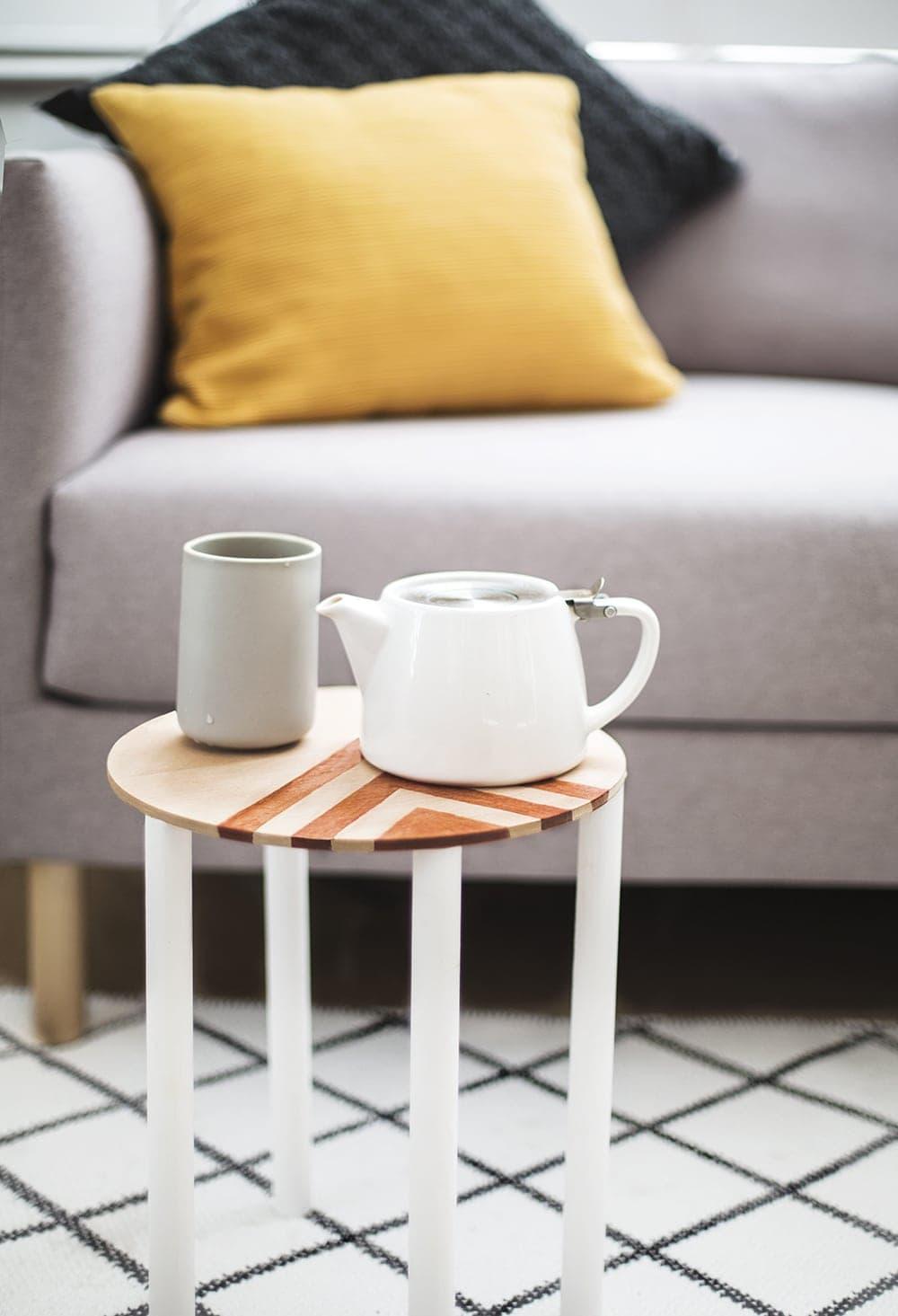 DIY mini side table 1