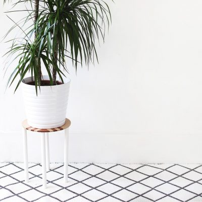 Sugar & Cloth: DIY patterned side table