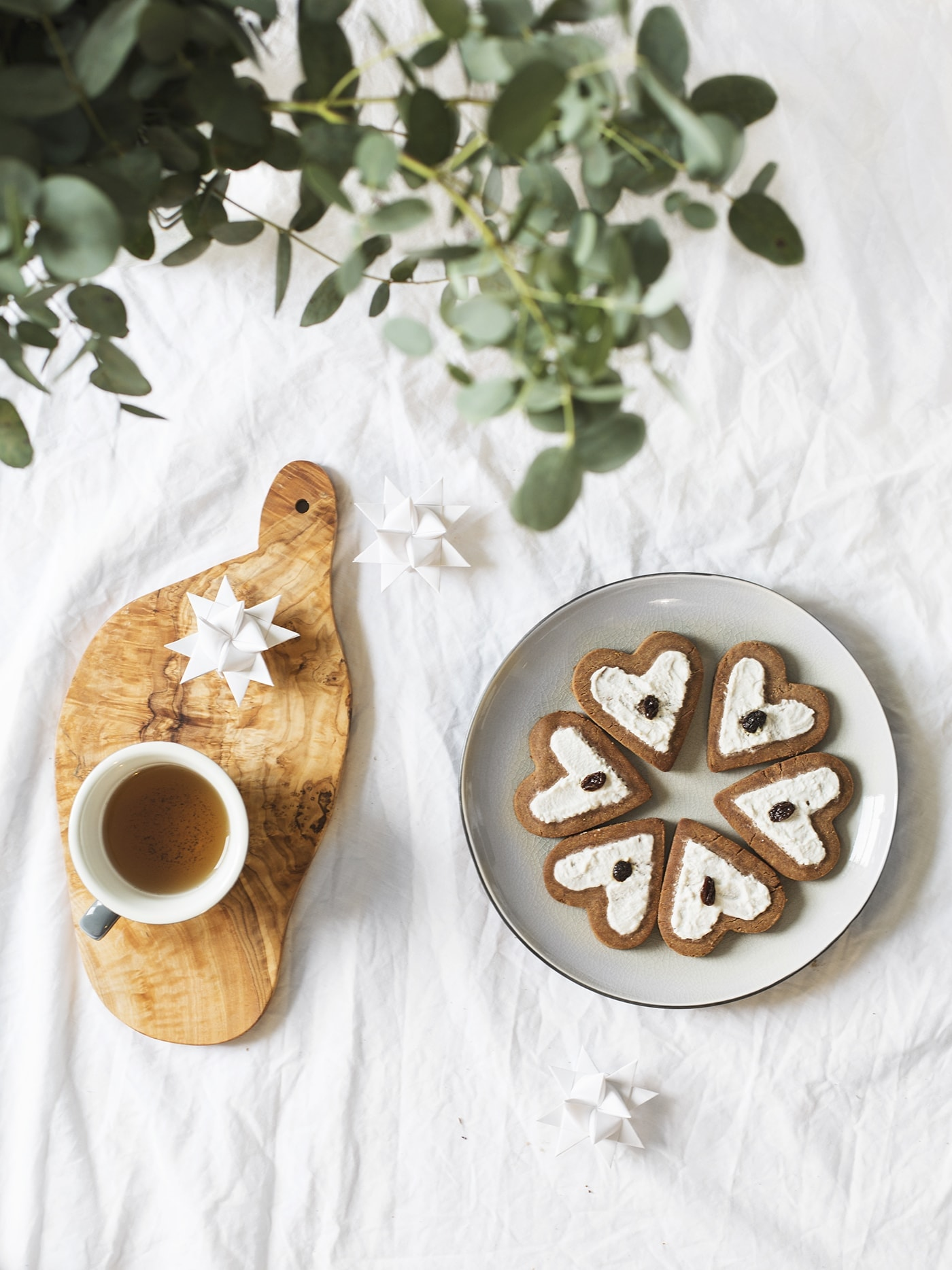 Paleo chestnut flour gingerbread | Christmas sweet treats | gluten free | vegan | refined sugar free