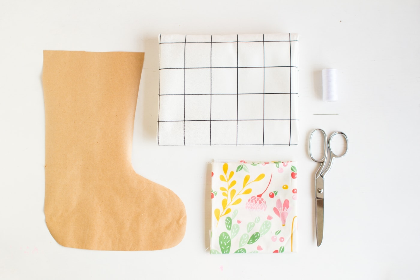 West Elm 12 Days of Christmas DIY Stocking - Fall For DIY-1
