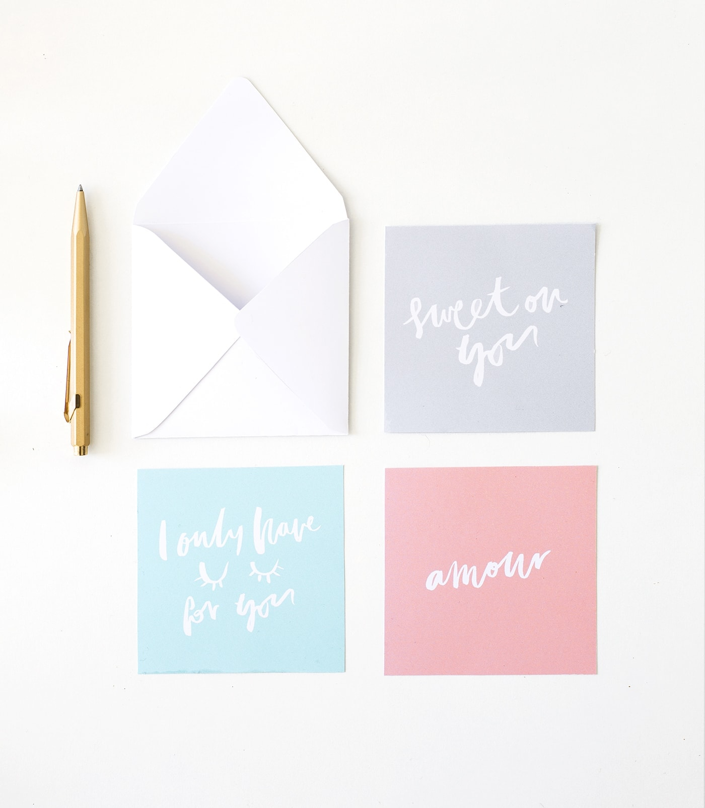 Printable Note Cards Printable Valentines Love Notes