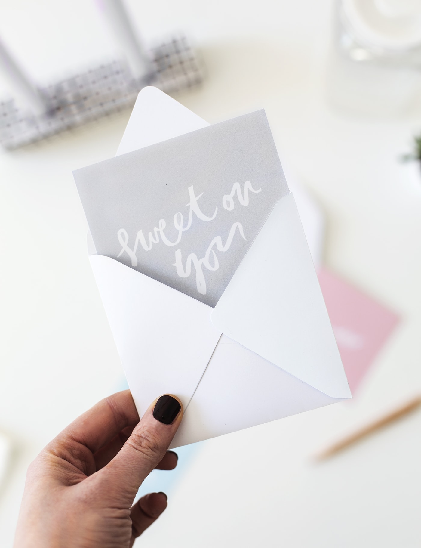 Printable Notecards and Envelopes