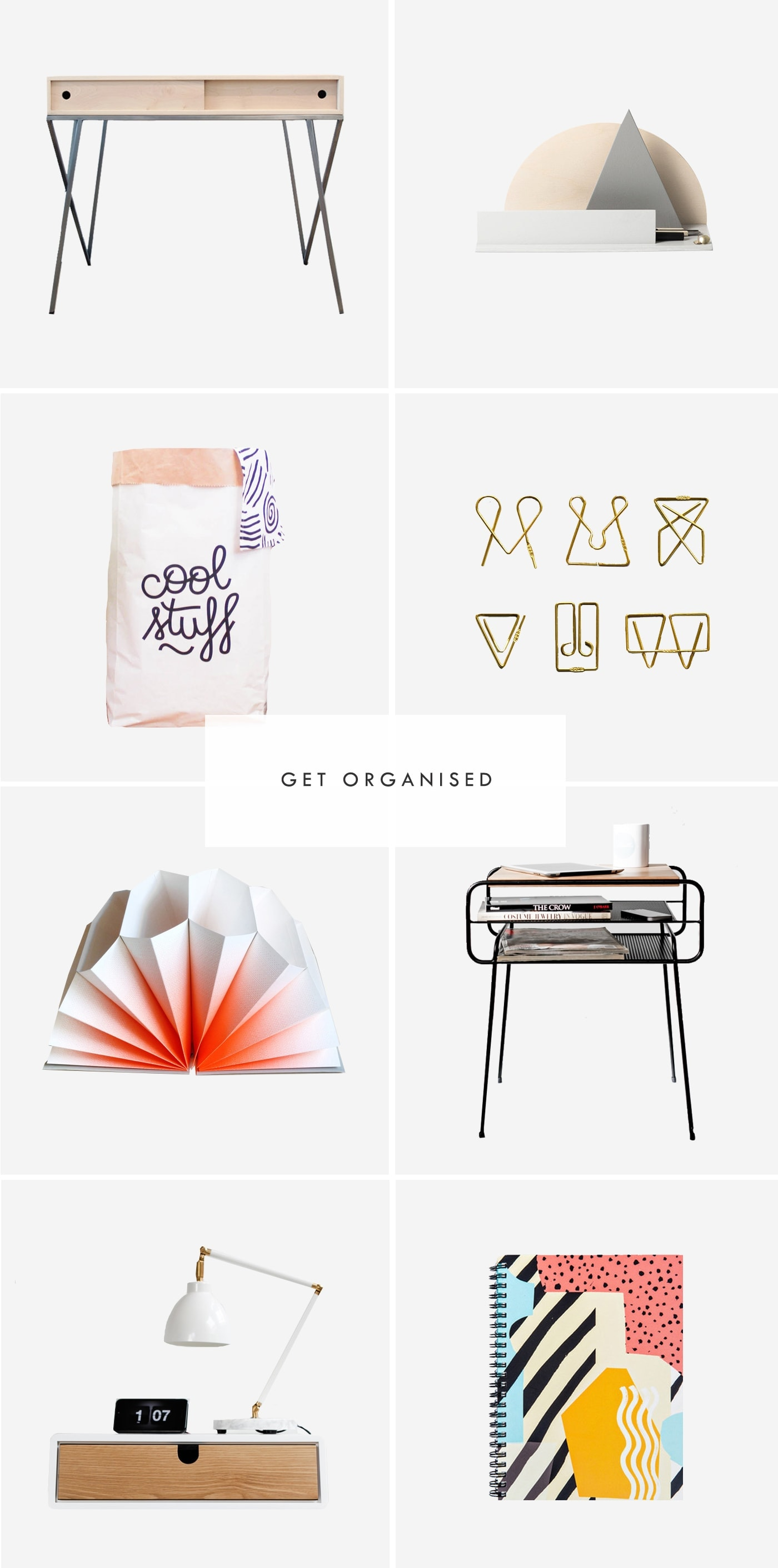 get organised | new year sort out | storage ideas