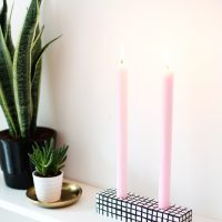 sugar & cloth | DIY candle holder