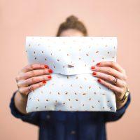 DIY-metallic-dotted-clutch-easy-fashion-crafts-