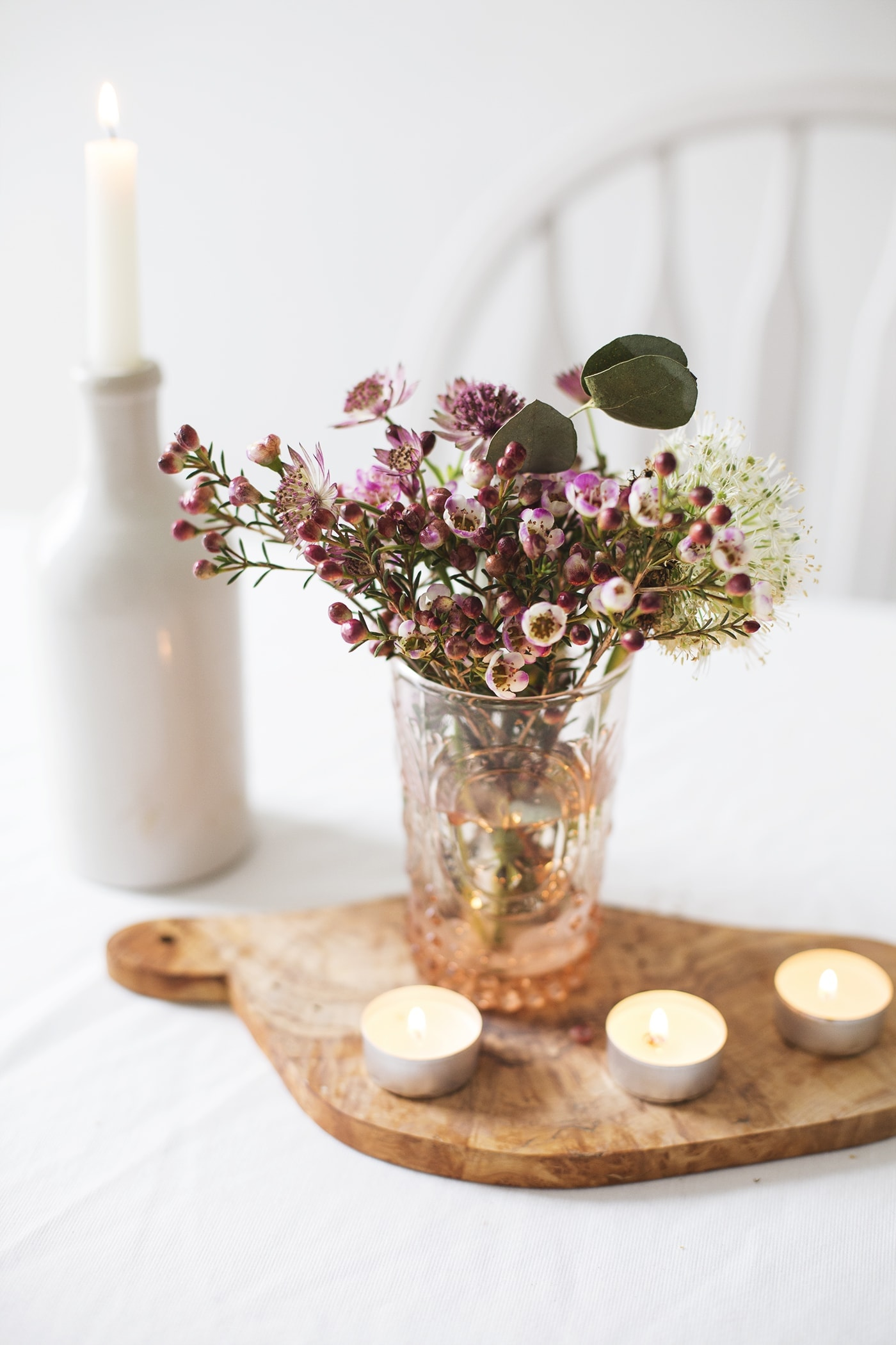 february styling the seasons | valentine's table