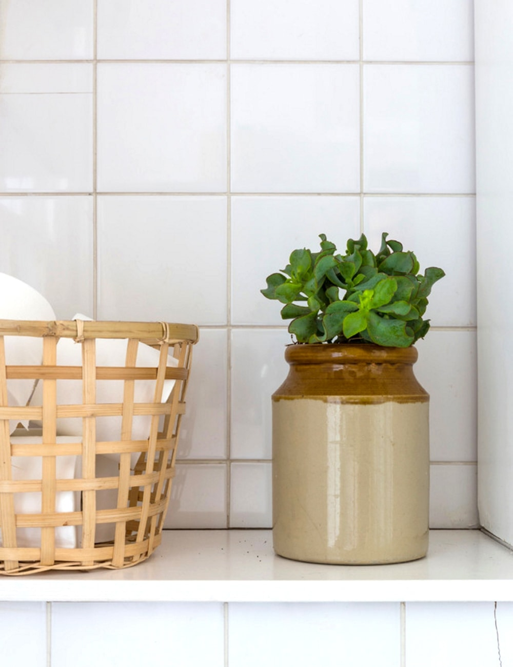 houzz home tour | the lovely drawer | bathroom
