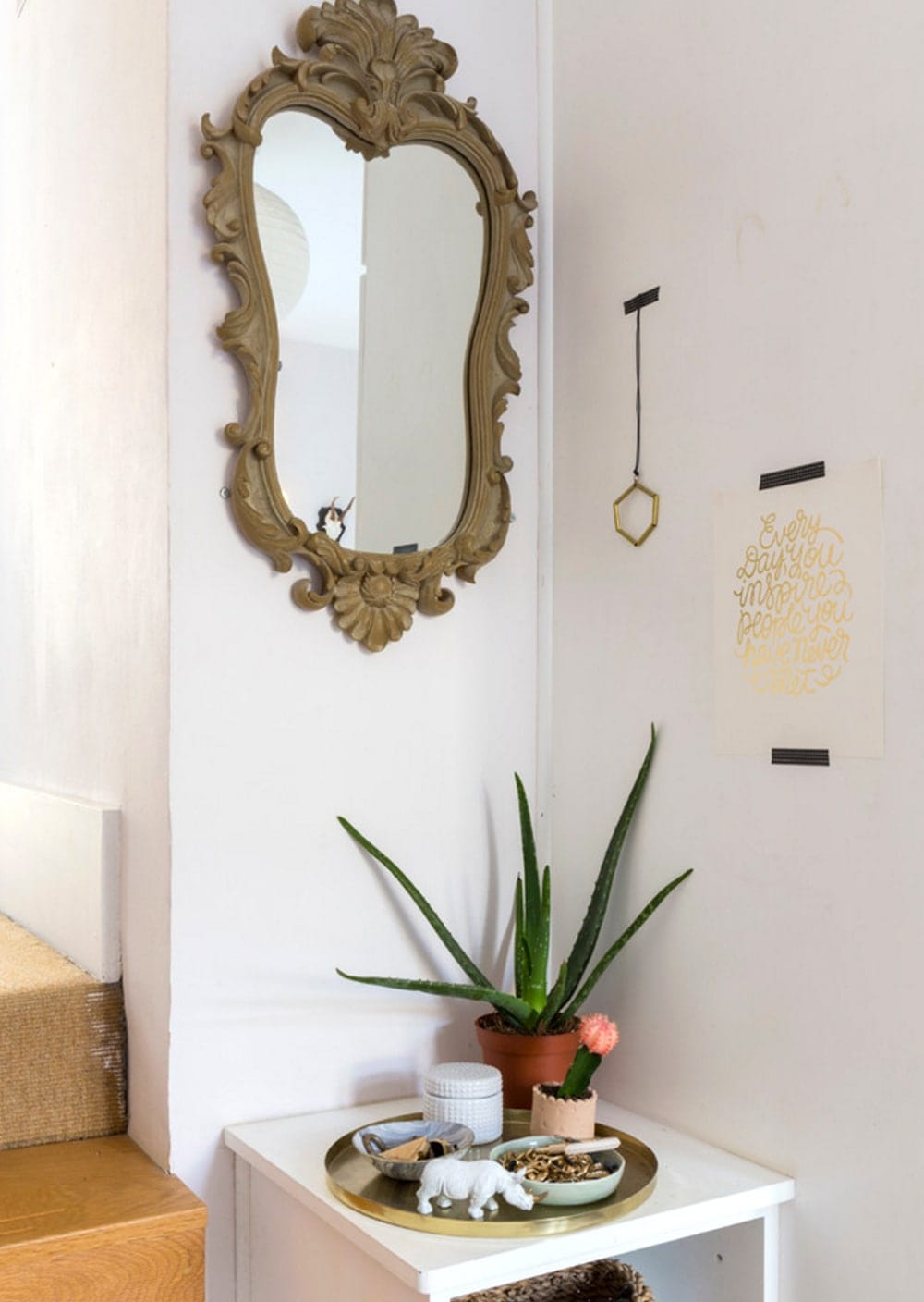houzz home tour | the lovely drawer | bedroom corner