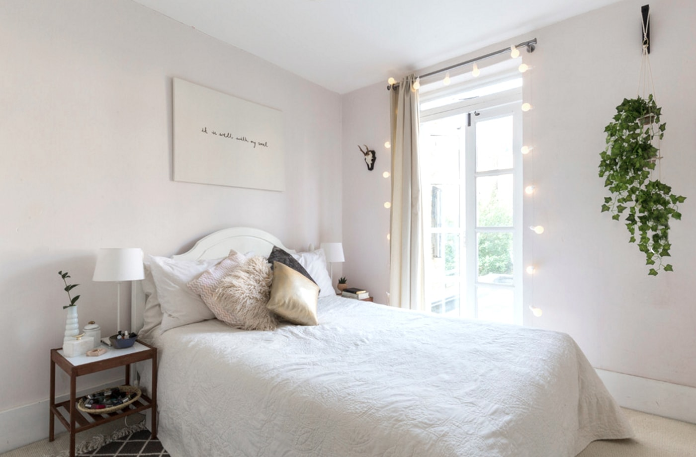 houzz home tour | the lovely drawer | bedroom