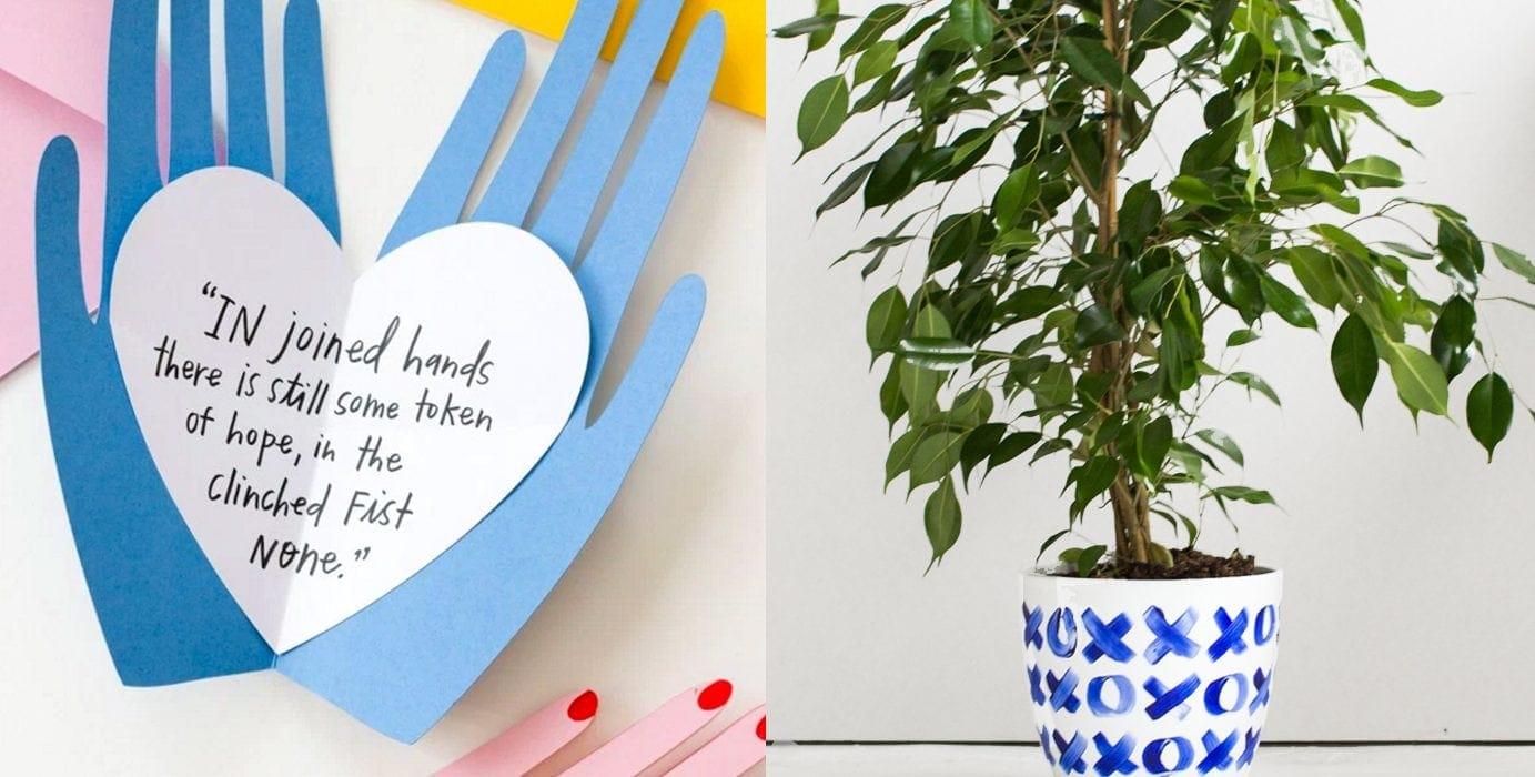 love DIYs for Valentine's Day | craft ideas