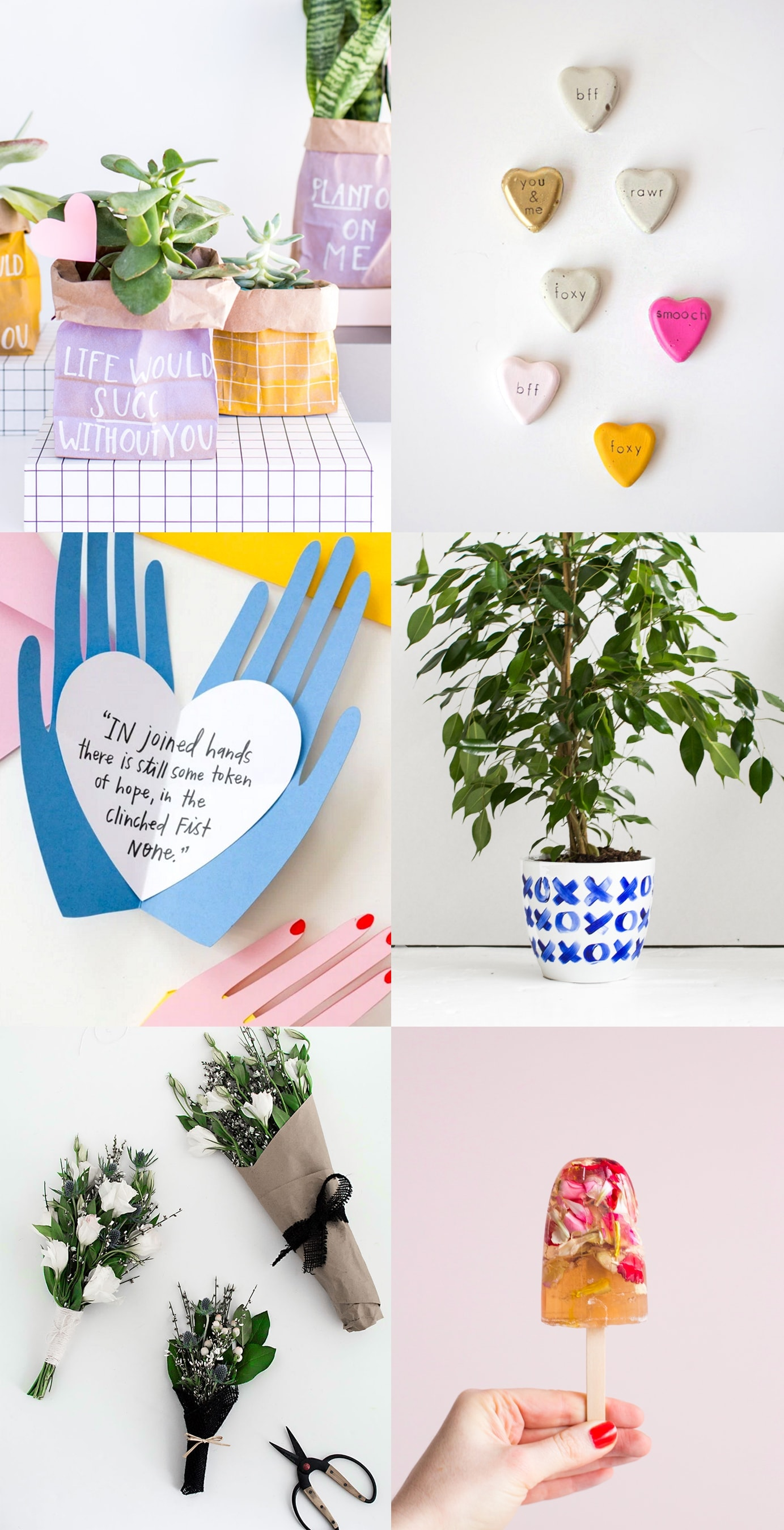 love DIYs for Valentine's Day   craft ideas