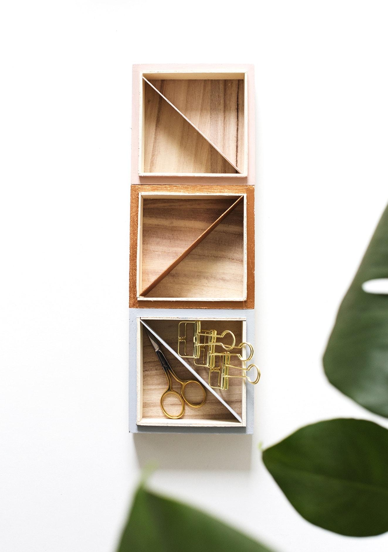 DIY trinket tray   easy storage   craft ideas copy