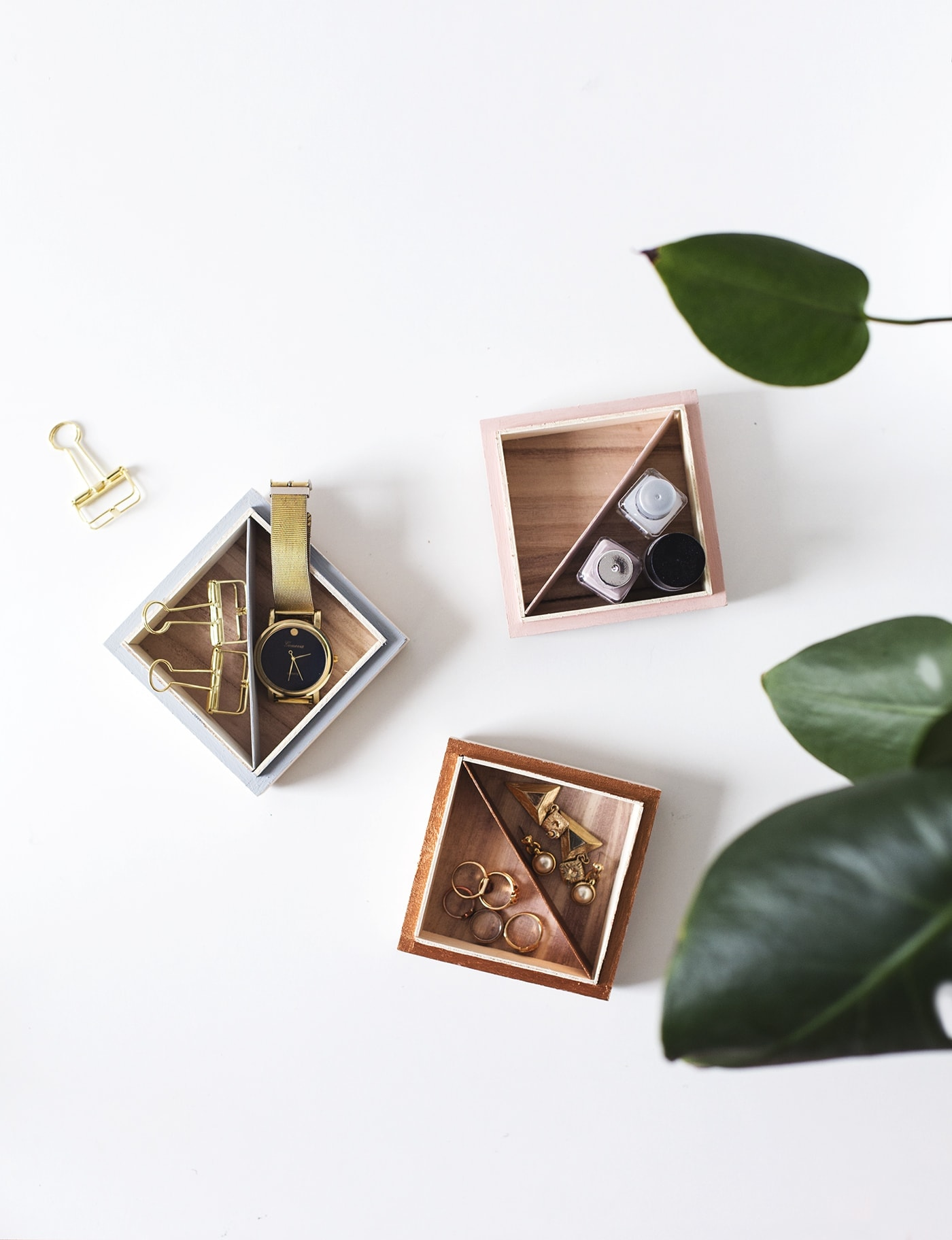 DIY trinket tray   easy storage   craft tutorial