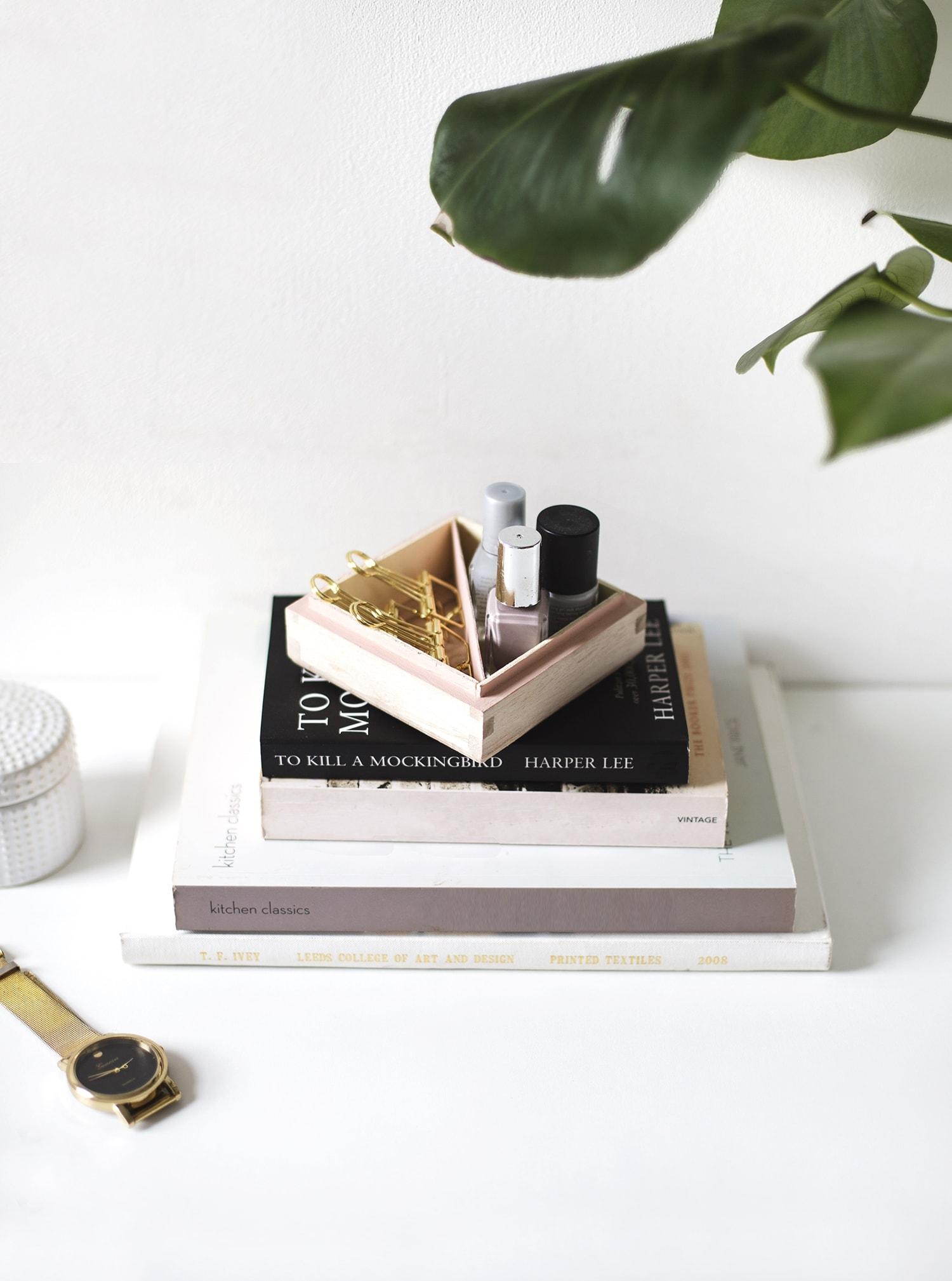 DIY trinket tray idea | easy storage | crafts