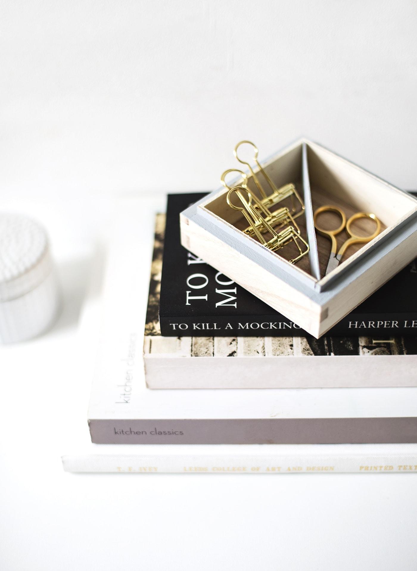 DIY trinket tray | storage | craft ideas