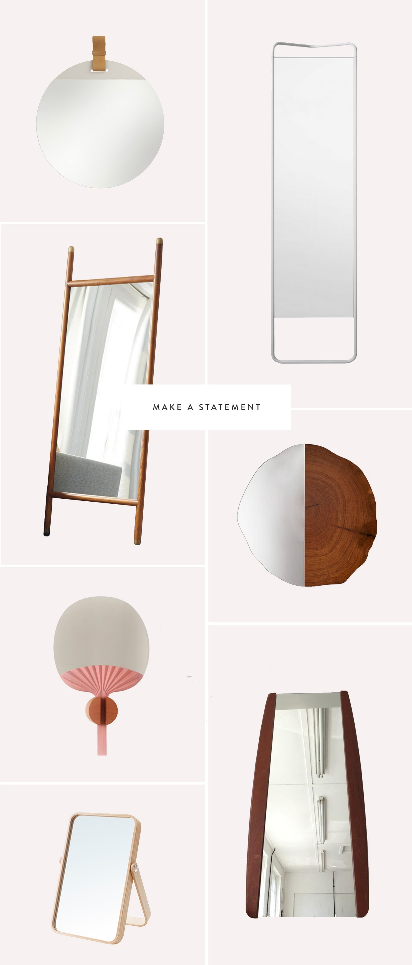mirror inspiration | interiors | home decor