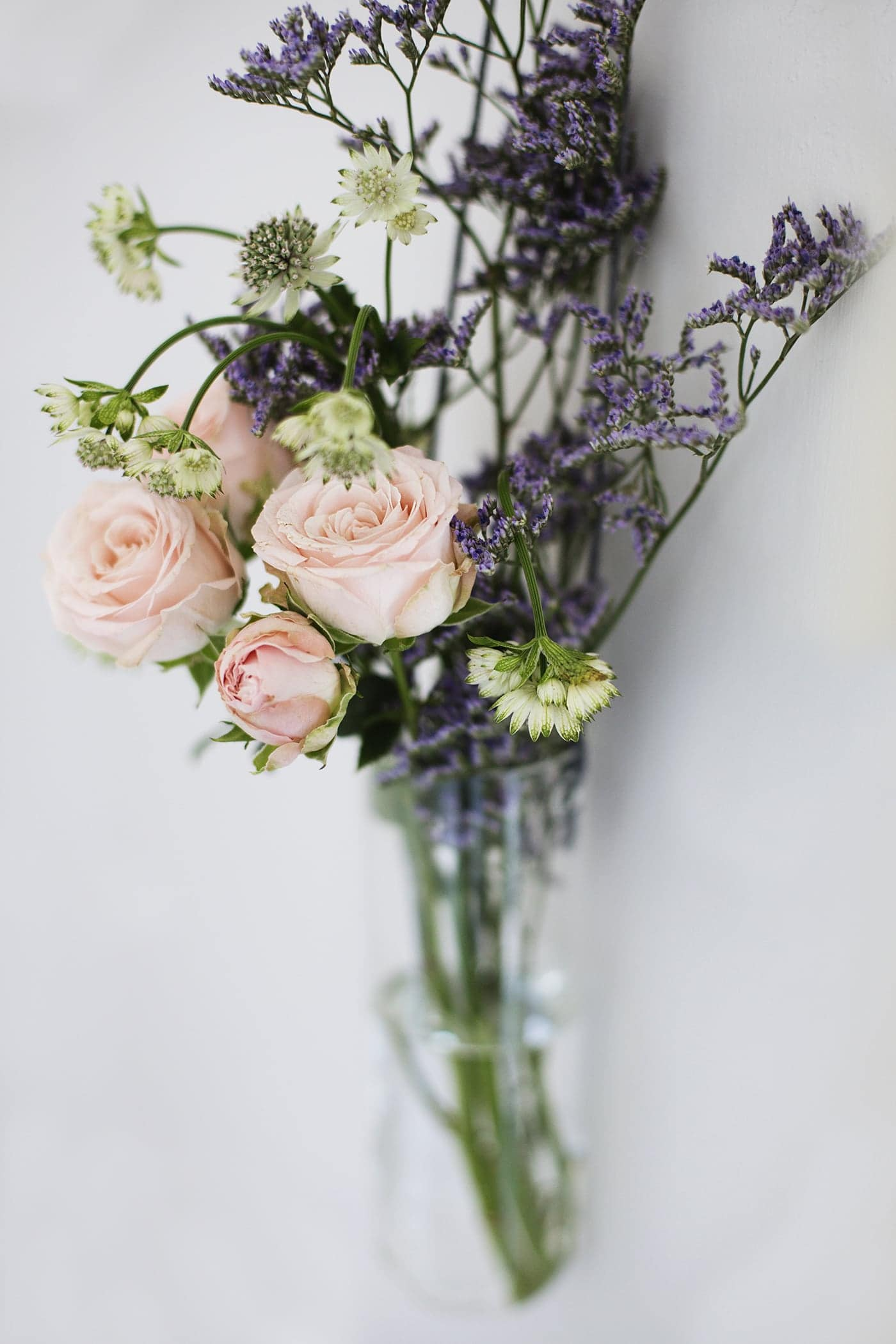 styling the seasons march | posies | hanging flowers