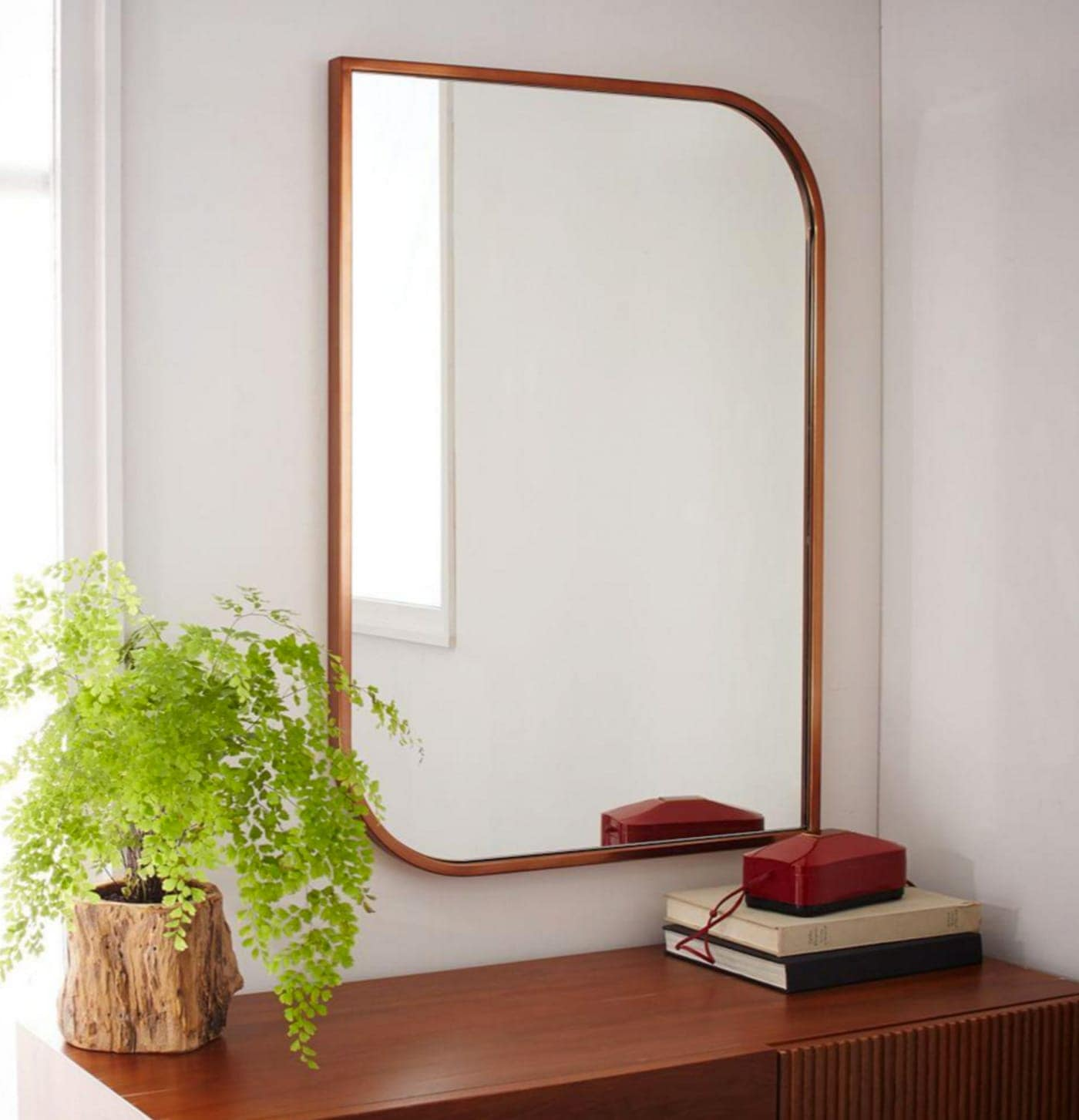 weat elm mirror shapes | interior inspiration