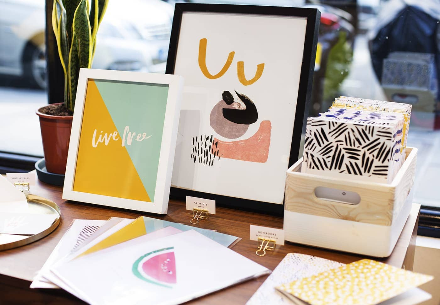 west elm pop up shop | the lovely drawer stationery