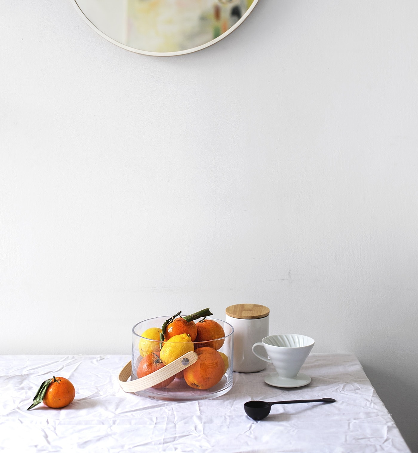 April styling the season | fruit | dining table