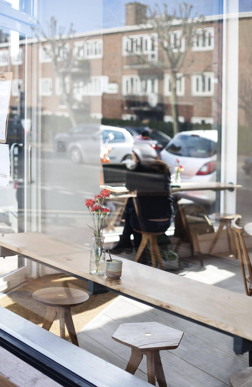 Clapham staycation | Story Coffee interiors | mini break