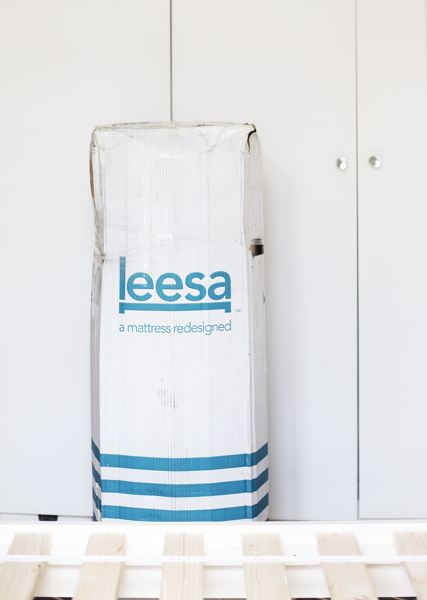 Leesa mattress | unpackaging 1