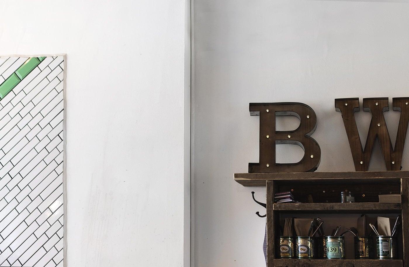London staycation | Brickwood Coffee interiors | mini break