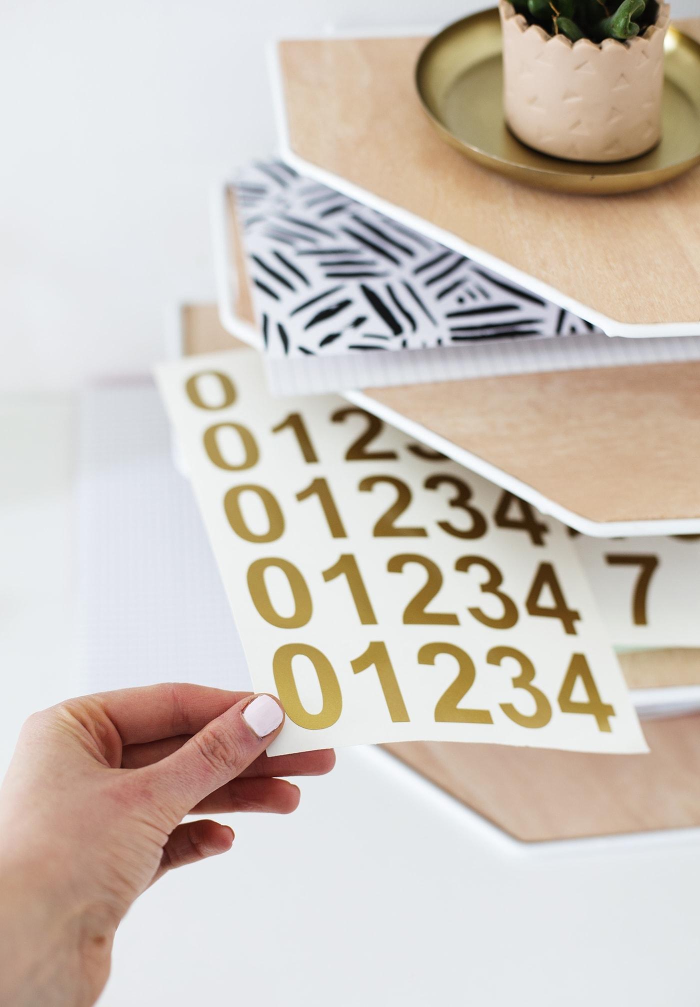 DIY balsa wood desk organiser tutorial | workspace tidy up | easy craft ideas