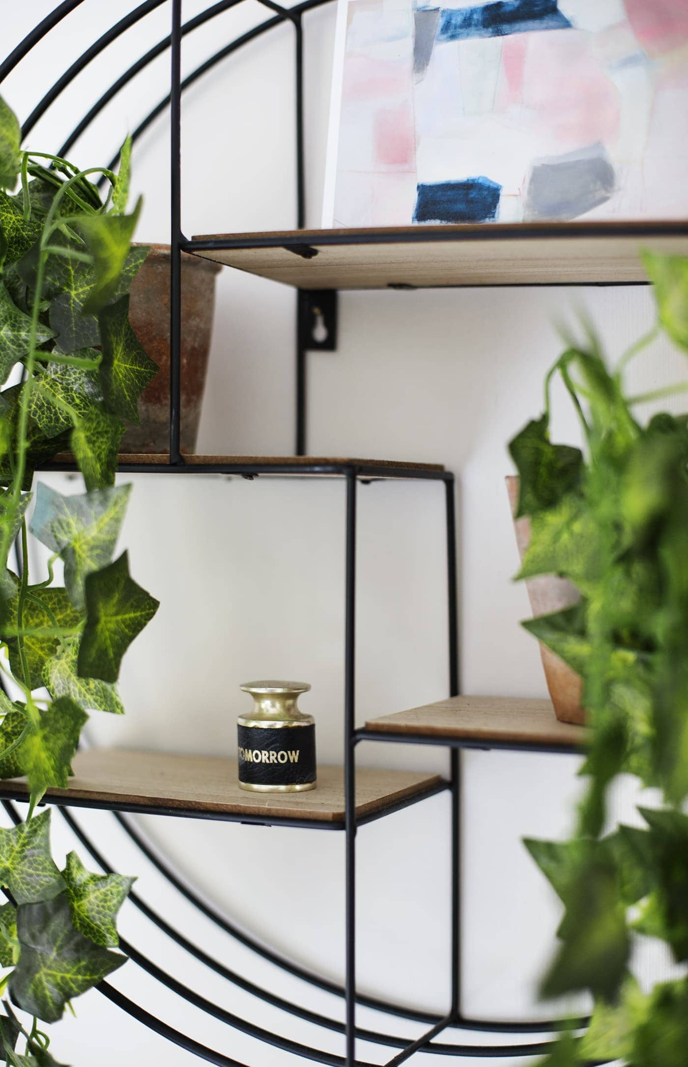May styling the seasons | house plants | wall shelves | home decor