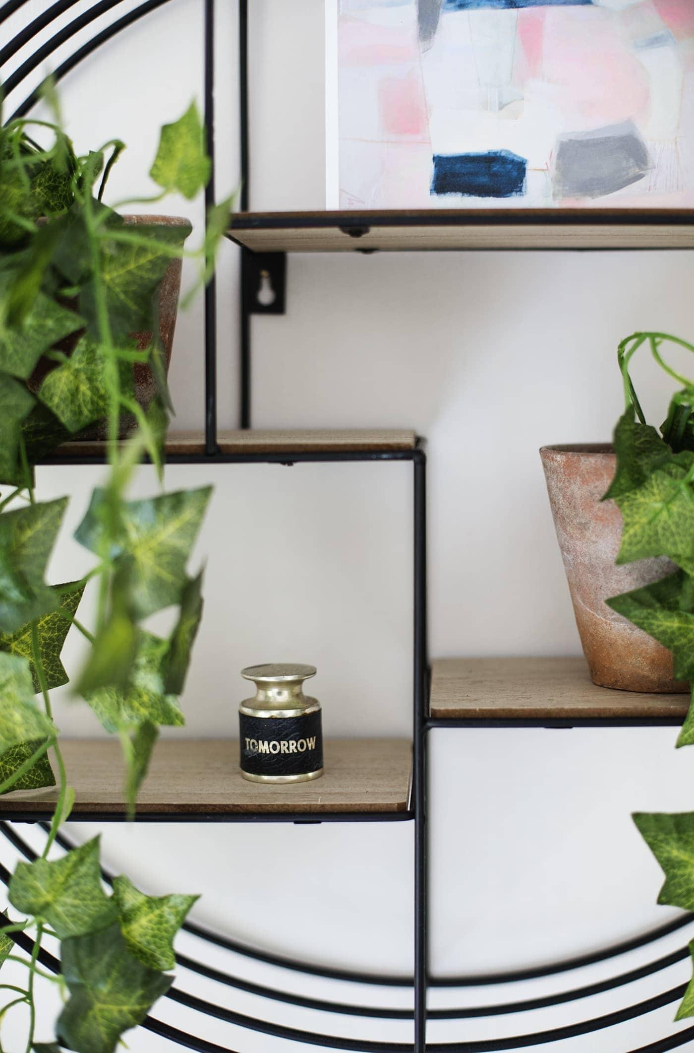 May styling the seasons | shelfie | pot plants