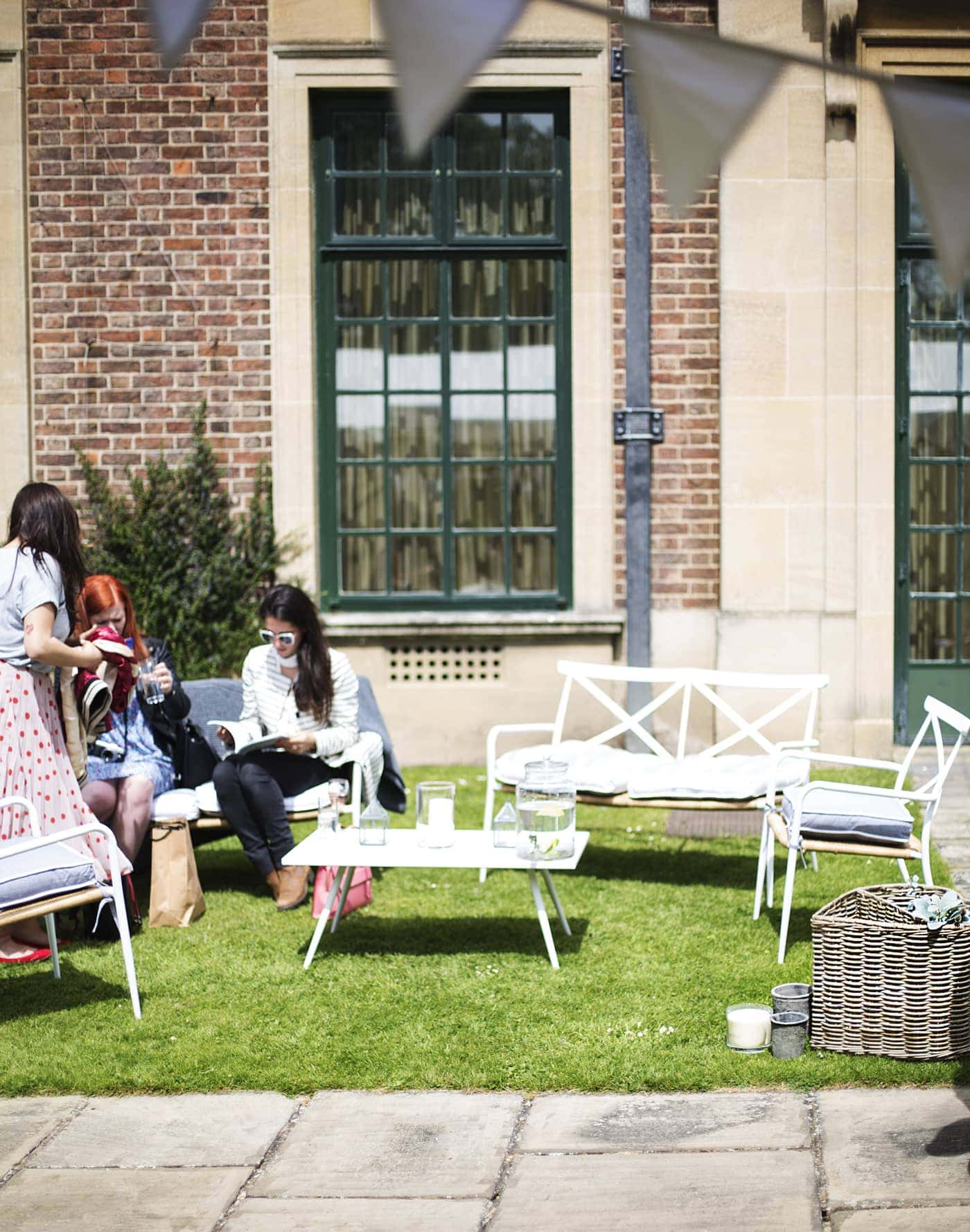 The White Company summer entertaining | Eltham palace garden party