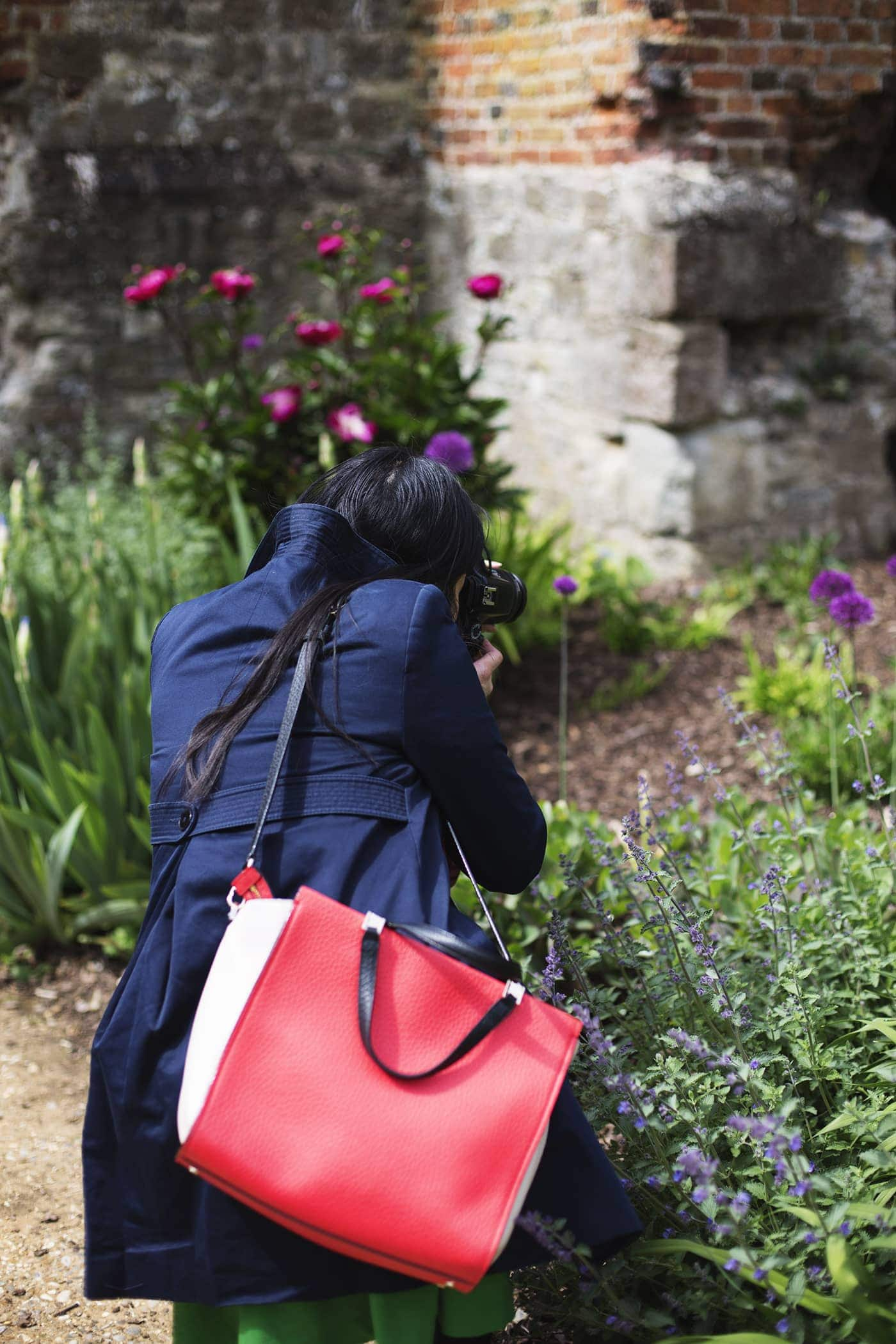 The White Company summer entertaining | Eltham palace gardens