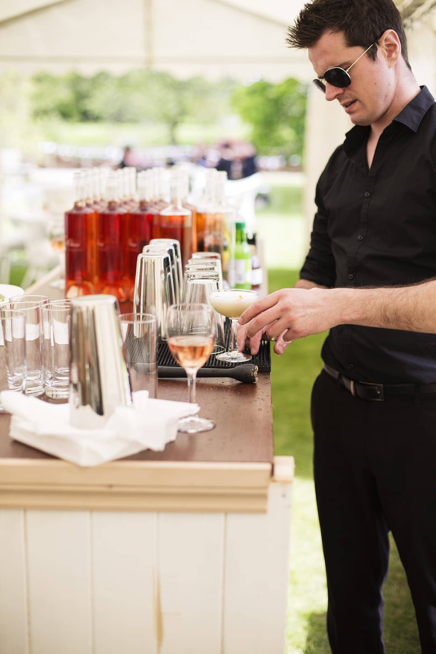 The White Company summer entertaining | cocktail bar