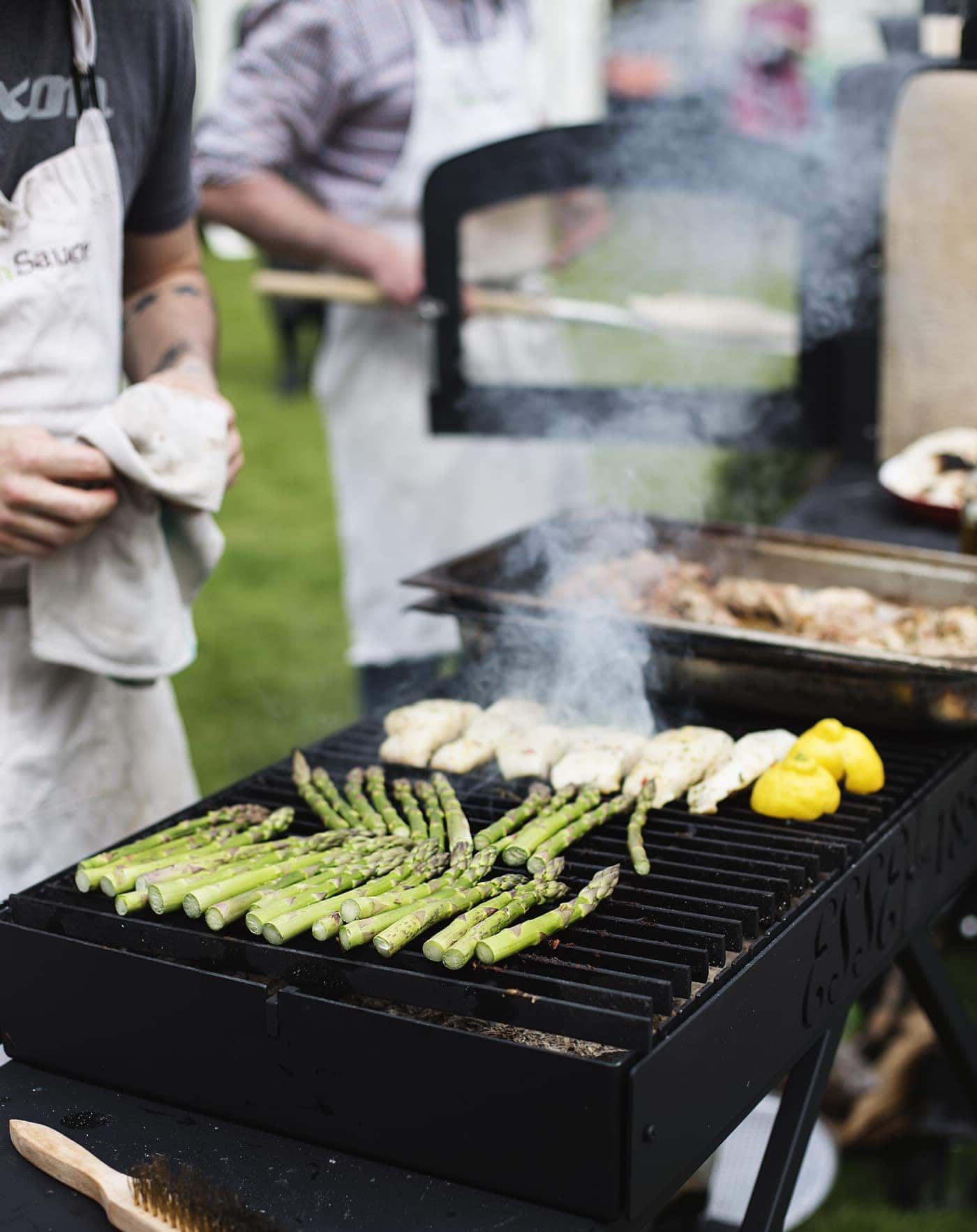 The White Company summer entertaining | simple bbq