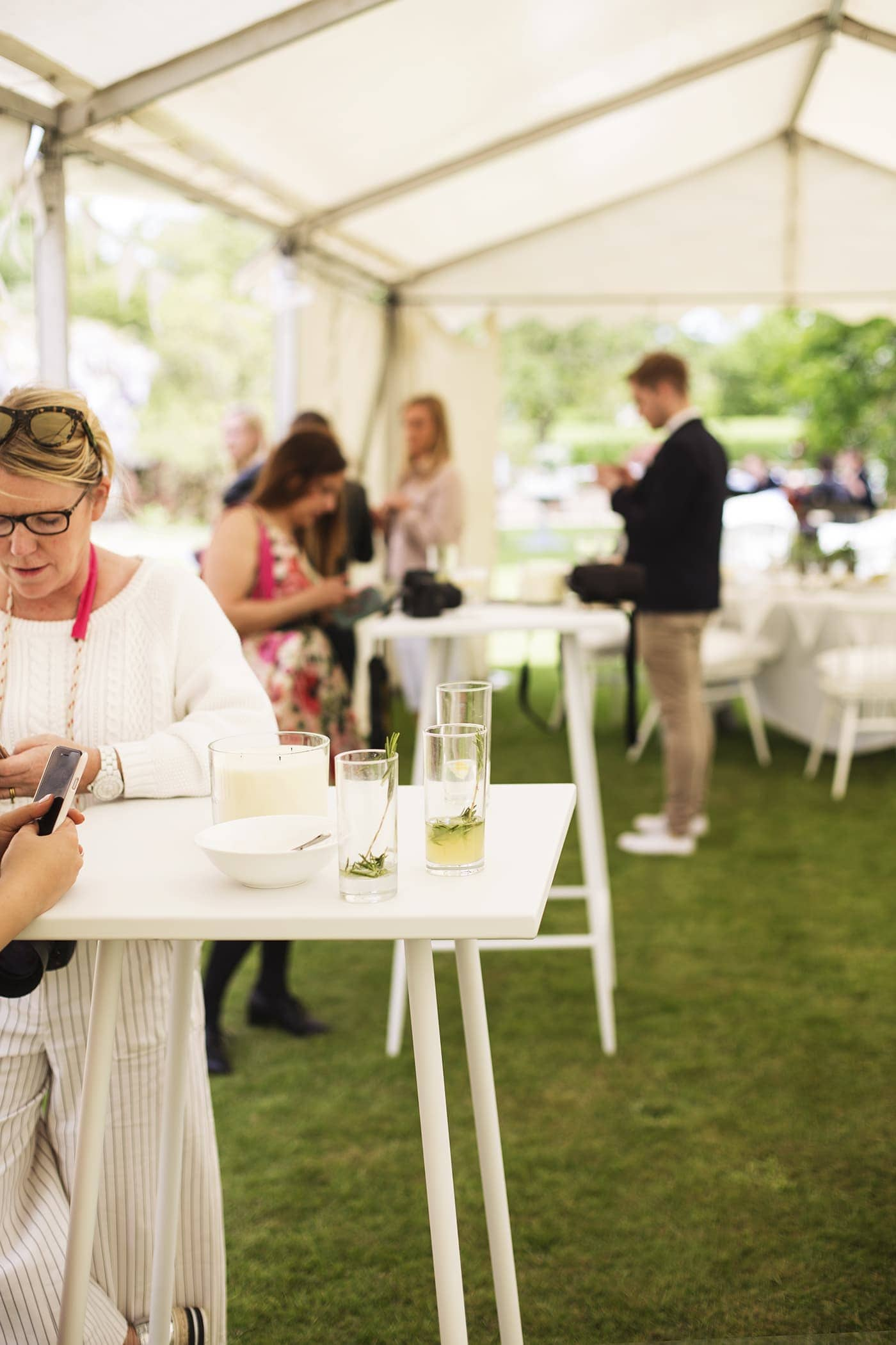 The White Company summer entertaining | summer parties