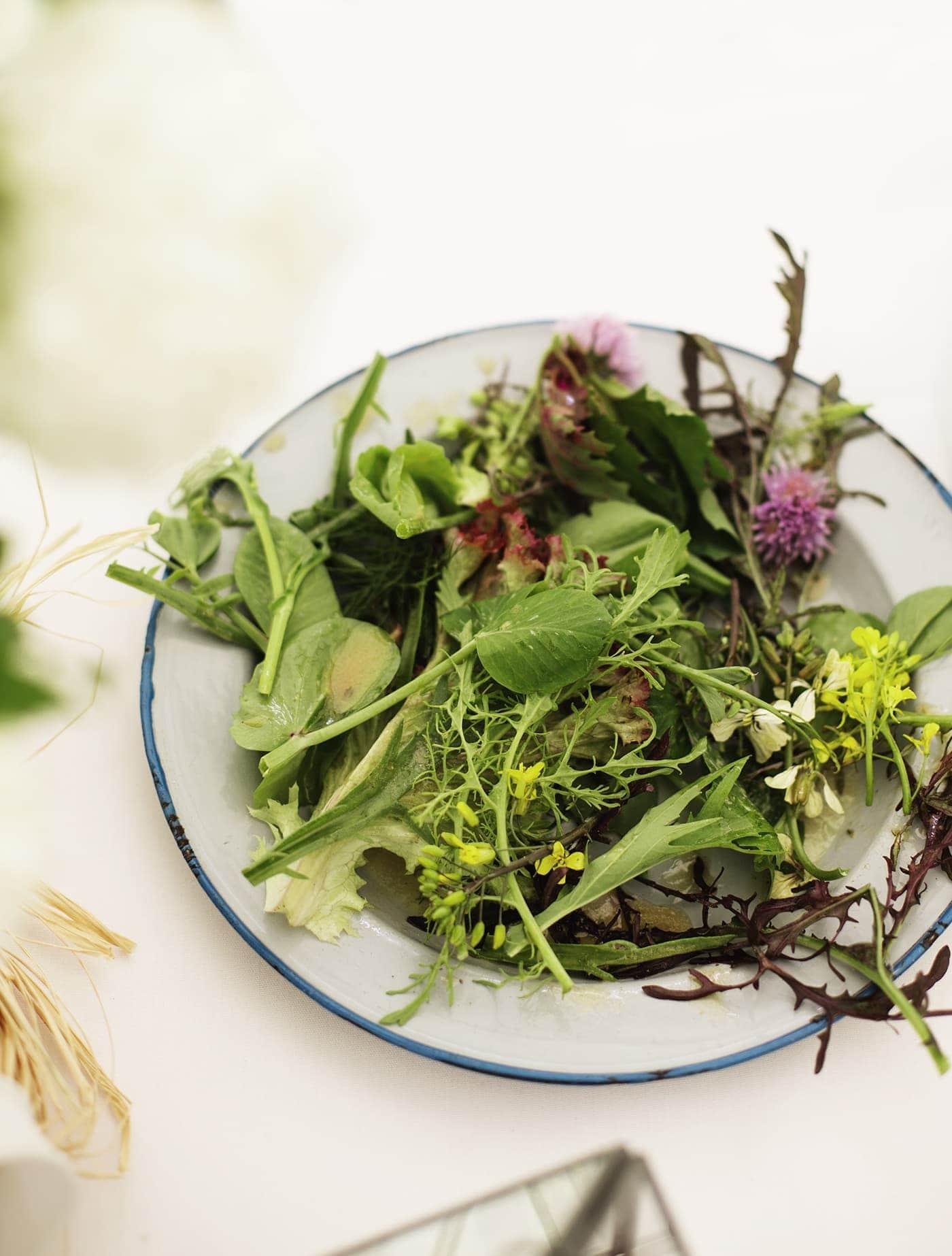 The White Company summer entertaining | summer salad