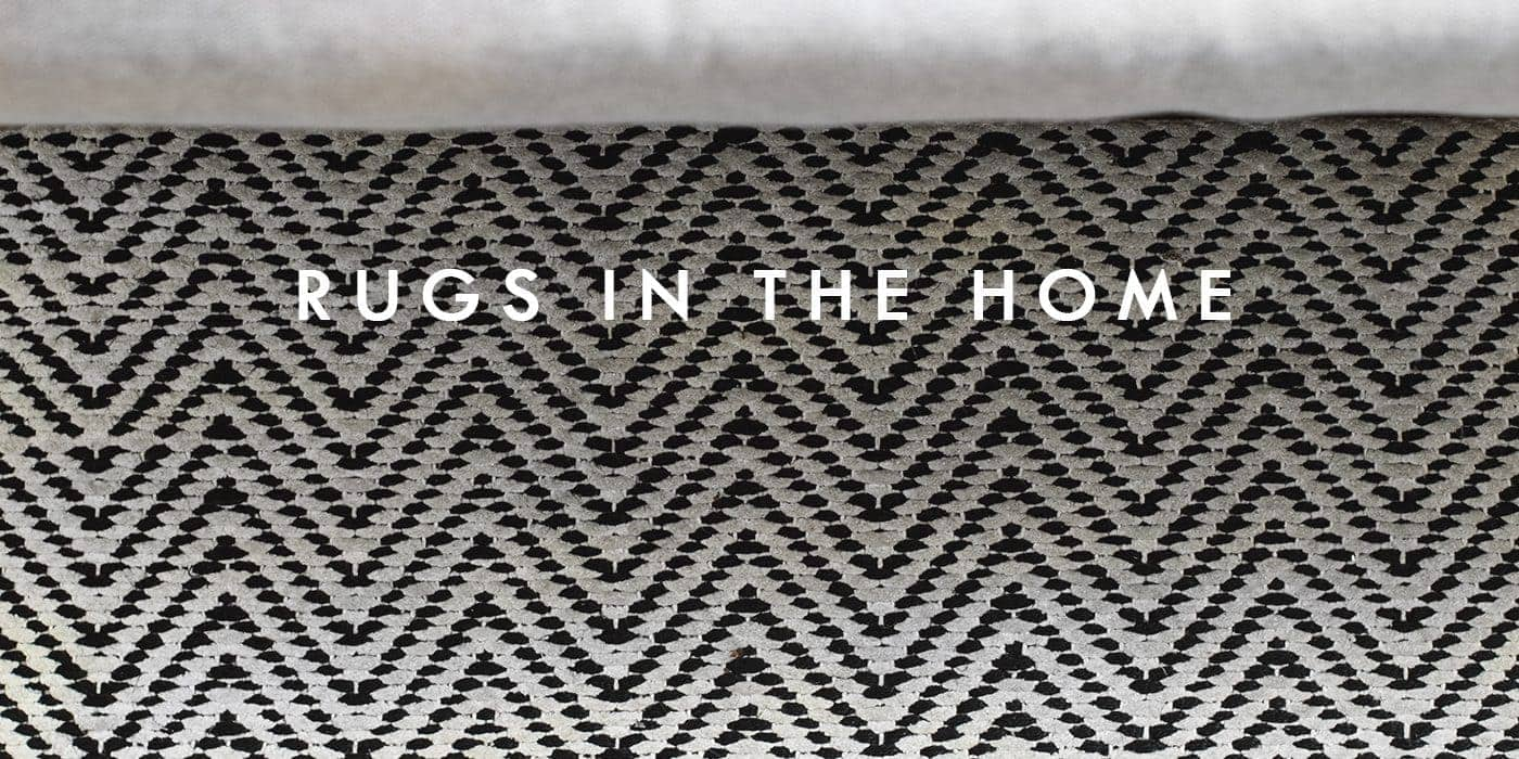 rugs in the home | carpetright | monochrome style