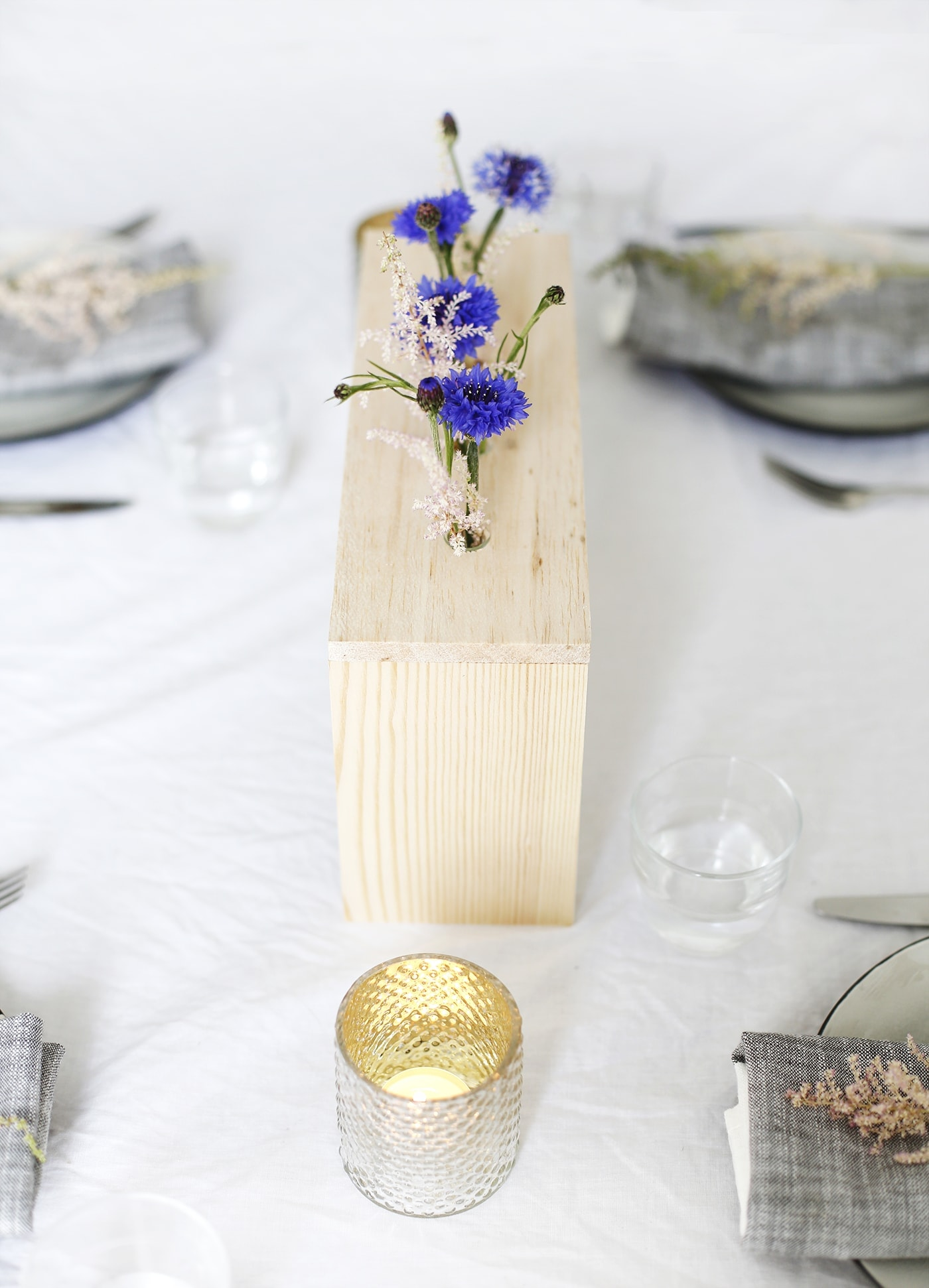 DIY floral table centre tutorial