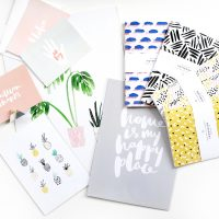 birthday giveaway | freebies | stationery