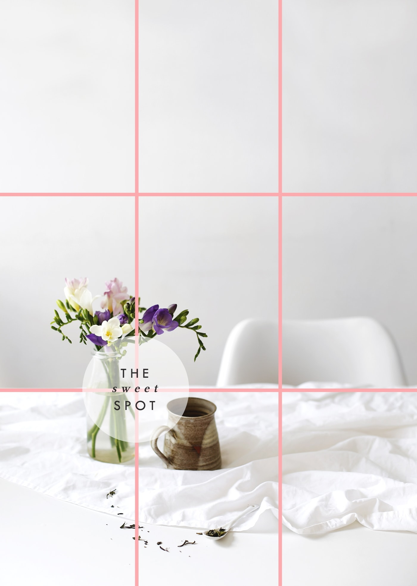 blogger photography tips | the rule of thirds