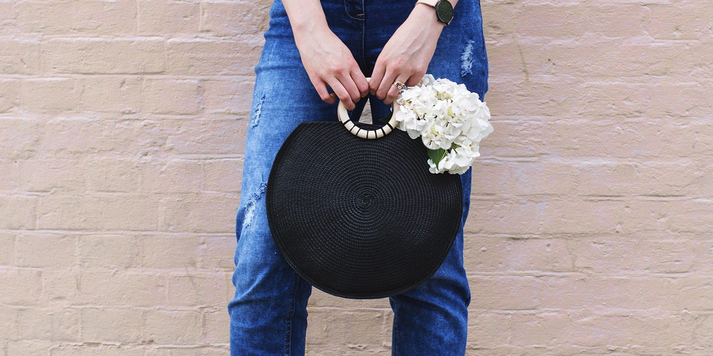 diy woven summer bag tutorial | easy craft ideas