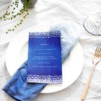 indigo summer dining   free printable menus